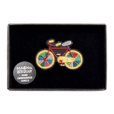 Paradise Bicycle Brooch